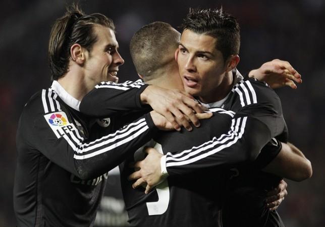 Bale Benzema Ronaldo Real Madrid