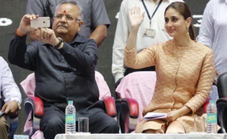 selfie with Kareena Kapoor