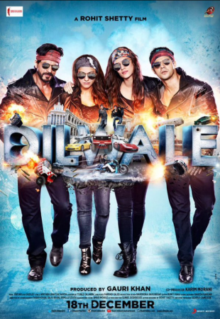 Dilwale poster