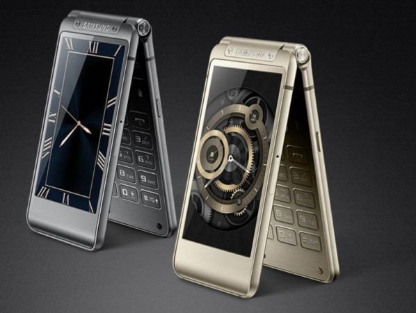 Galaxy S6 series inspired Samsung W2016 flip-phone launched in China