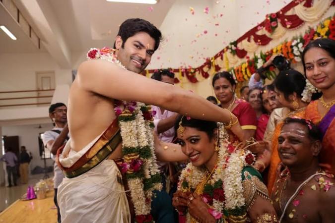 Ganesh Venkatraman marries Nisha Krishnan
