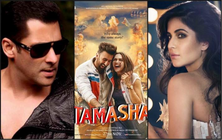 Salman Khan, 'Tamasha' poster, Katrina Kaif