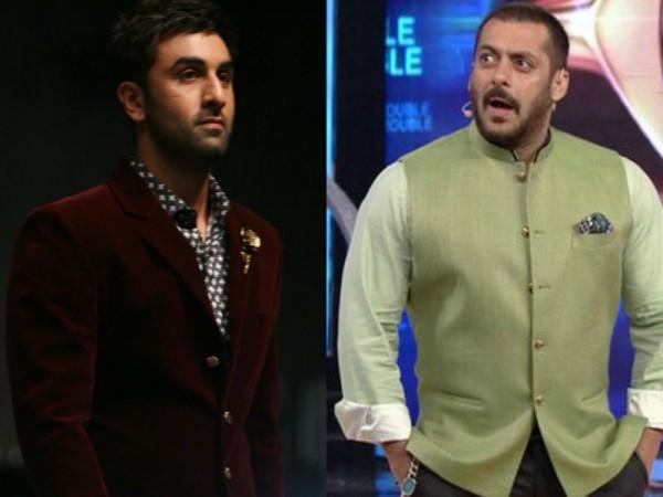 Ranbir Kapoor and Salman Khan