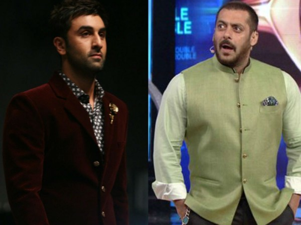 Ranbir Kapoor and Salman Khan