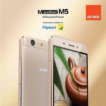 Gionee launches Marathon M5 with 4 days of battery life: Price, specs and availability