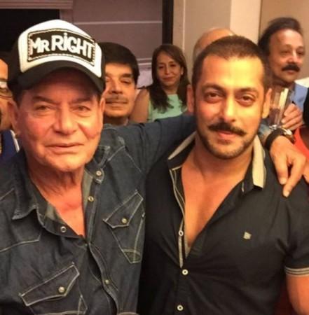 Salman Khan celebrates father Salim Khan's birthday