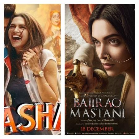 Deepika Padukone in 'Tamasha' or in 'Bajirao Mastani'