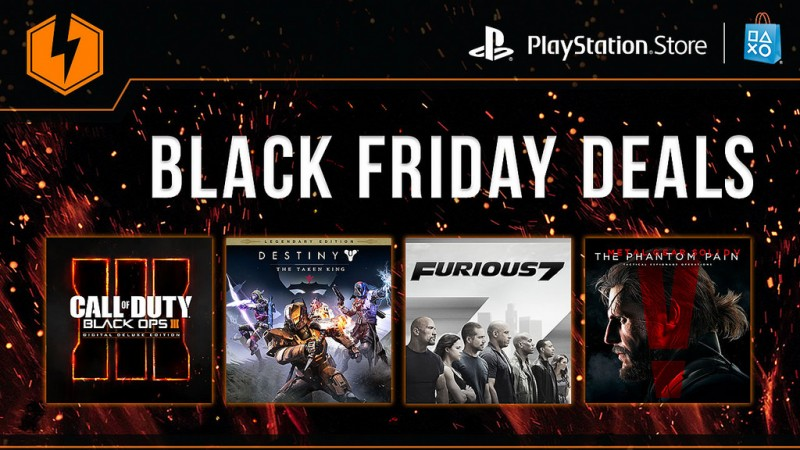 Black Friday Deals 2015 Sony Reveals Playstation Game