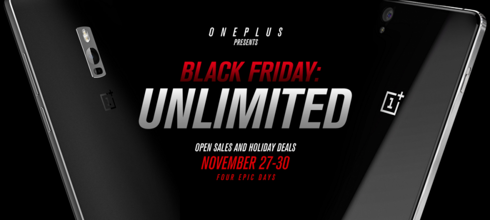 Black Friday 2015 deals: OnePlus joins Thanksgiving celebrations with steep discounts and open sales