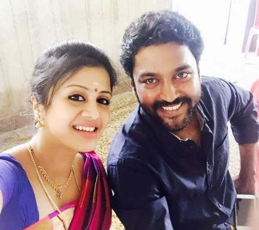 Anjana with Chandran