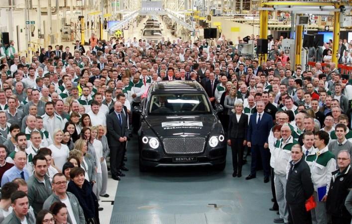 Bentley Bentayga at Crewe factory