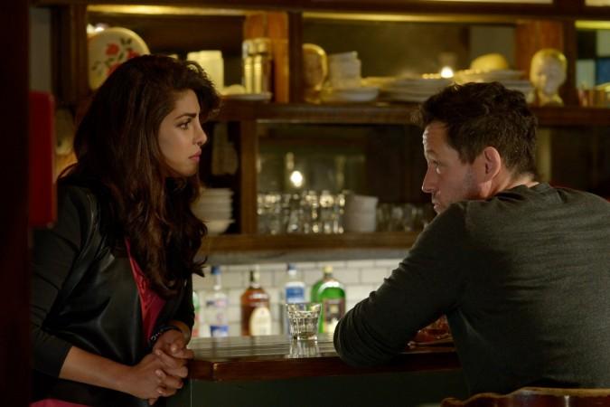 Alex helps a drunk Liam at a Georgetown bar