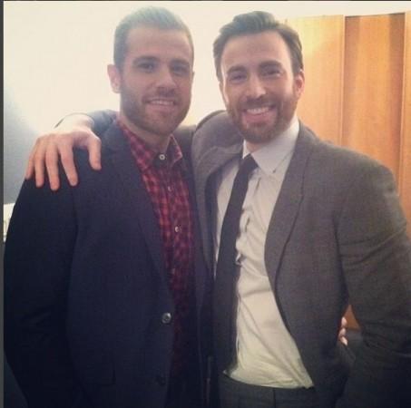 Scott and Chris Evans