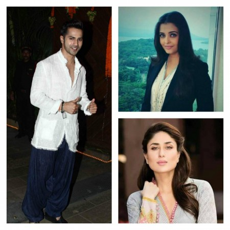 Varun Dhawan wishes to star with Aishwarya, Kareena and Preity in one film