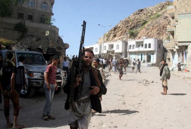 Yemen Houthi Figthers