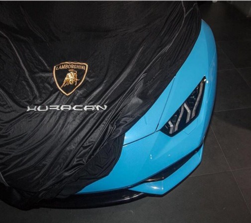 Lamborghini Huracan LP 610-4 Spyder teaser