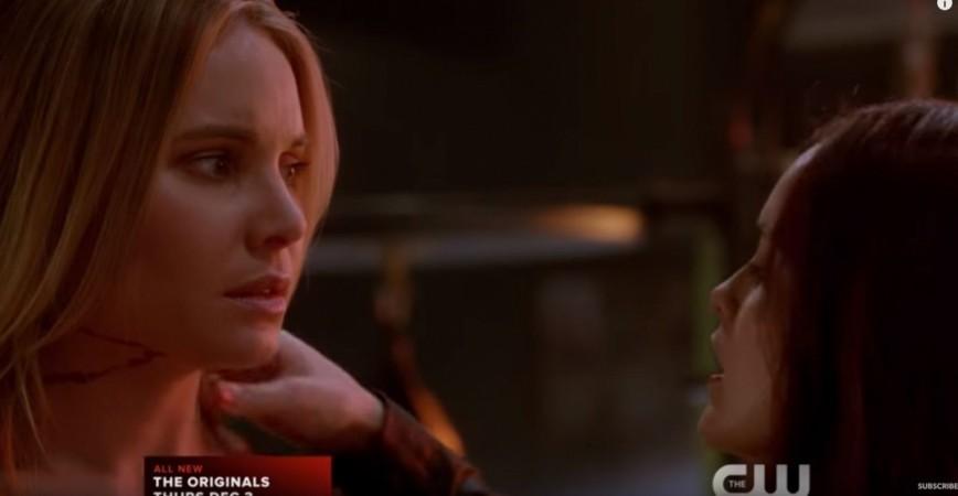 Cami and Aurora in 'The Originals'
