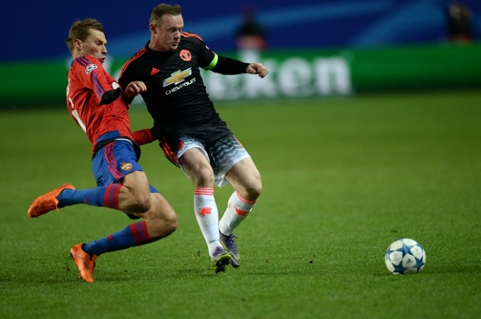 CSKA Moscow Manchester United Wayne Rooney