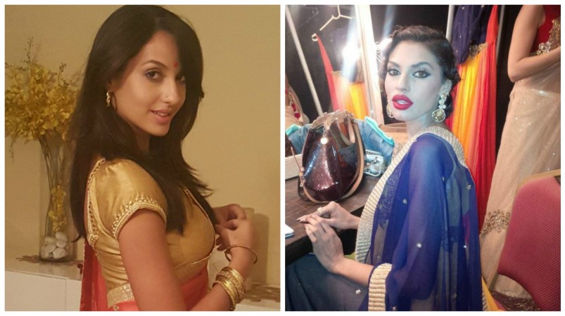 Nora Fatehi  and Gizele Thakral