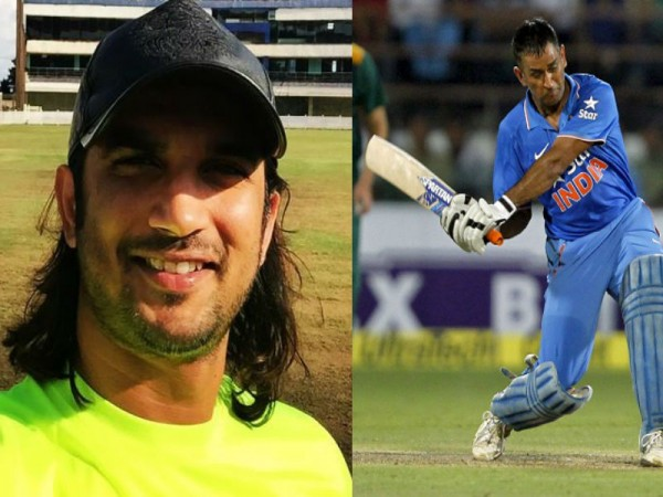 Sushant Singh Rajput and MS Dhoni