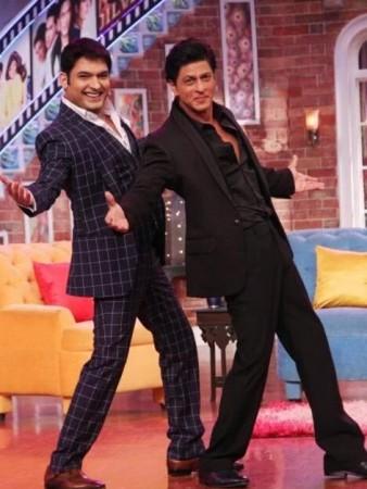 Shah Rukh Khan and Kapil Sharma on 'Comedy Nights With Kapil'