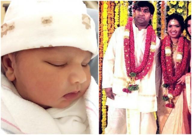 Neeraja Kona, Ajay welcome baby boy