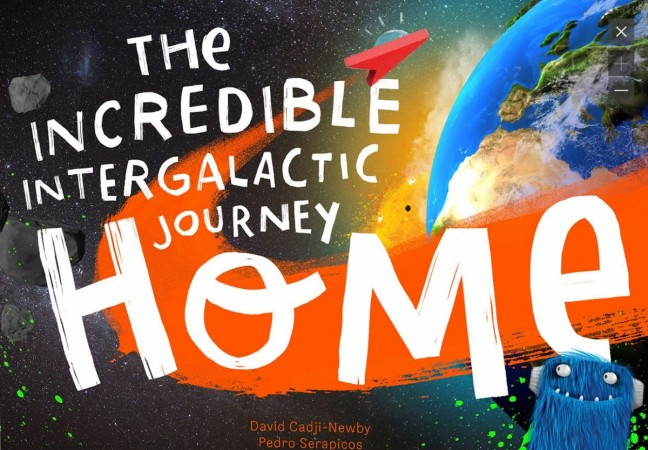 The Incredible Intergalatic Journey back home