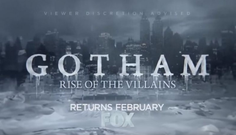 Trailer for 'Gotham' Season 2B shows a frozen Gotham signifying the arrival of Mr Freeze