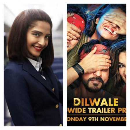 Sonam Kapoor starrer Neerja trailer to be attached with Shah Rukh Khan's Dilwale