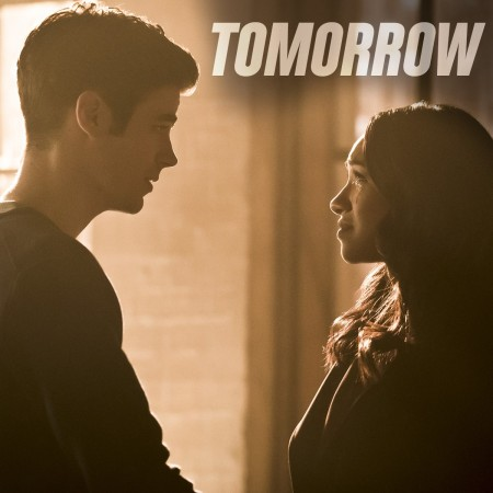 Barry and Iris in 'The Flash'
