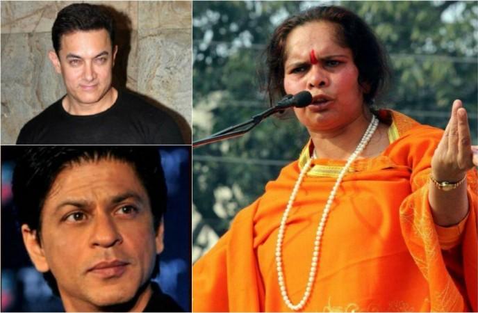 Sadhvi Prachi against SRK, Aamir Khan