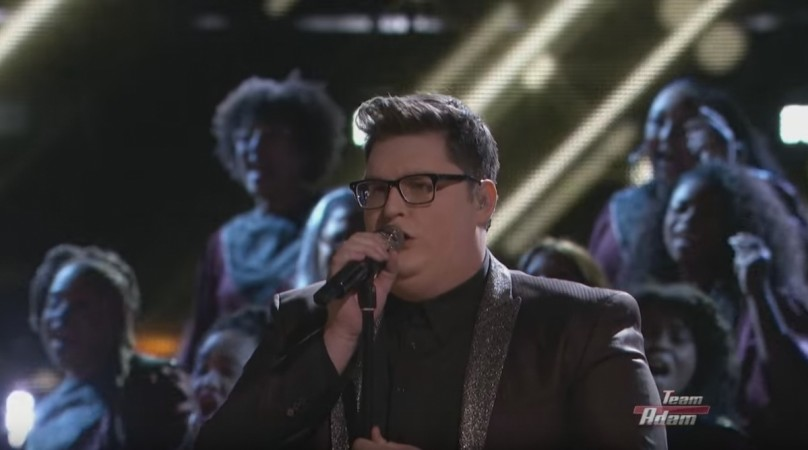 """Jordan Smith performs """"Somebody to Love"""" by Queen on """"The Voice"""" USA 2015"""