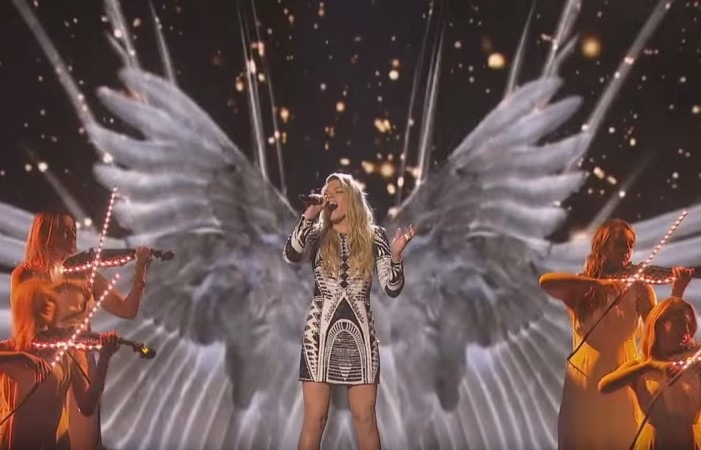 "Louisa Johnson on ""The X Factor"" UK 2015"