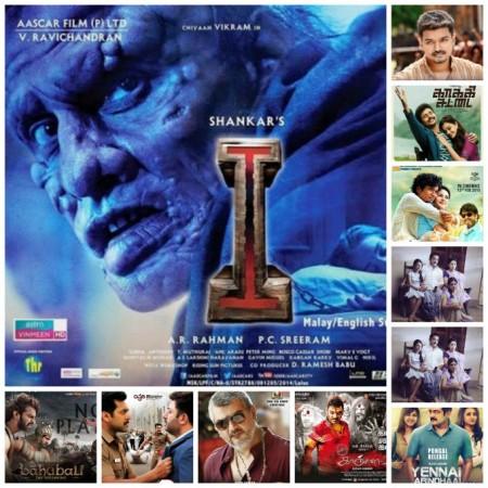 Biggest Tamil hits in 2015