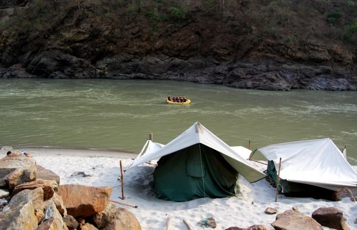 camping near ganga