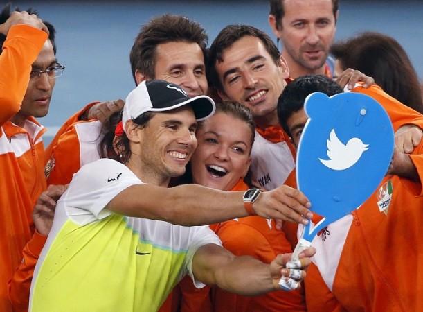 Indian Aces Nadal selfie