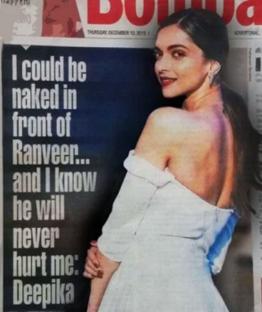 Deepika Padukone interview