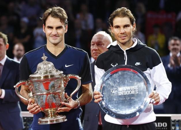Roger Federer Rafael Nadal Basel