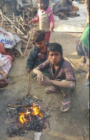 Delhi slum demolition