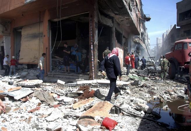Syria car bomb explosion