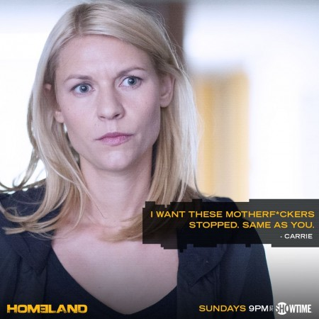 Carrie in dilemma to stop terrorists or save Quinn