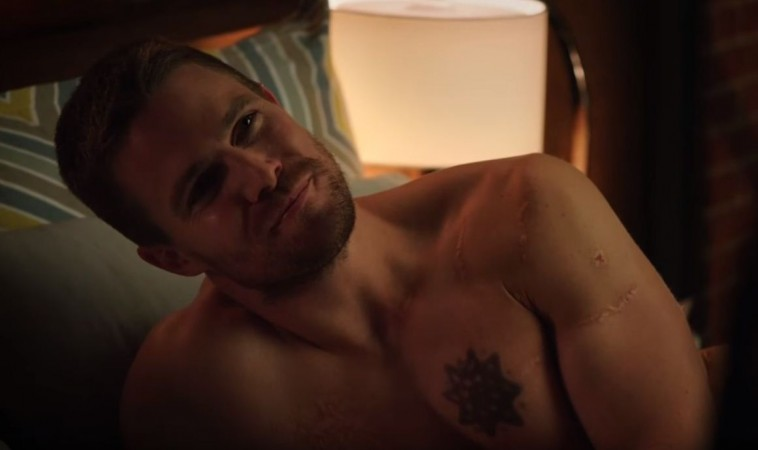 Stephen Amell as Oliver from 'Arrow'
