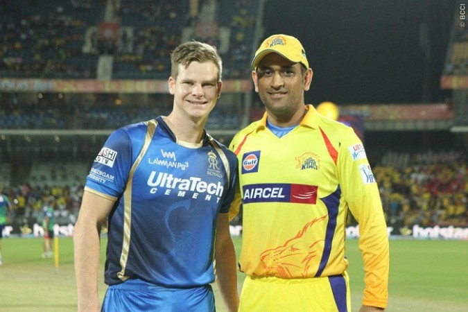 Steve Smith Rajasthan Royals MS Dhoni CSK