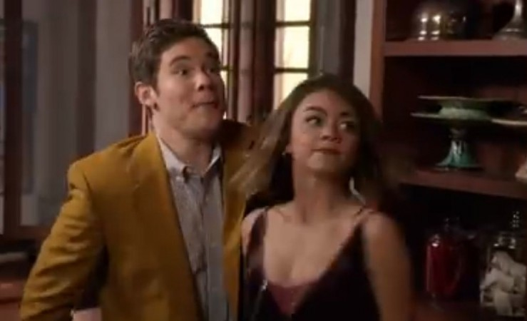 Haley and Andy in 'Modern Family'