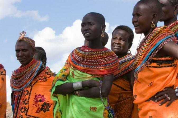 Shaba Kenyan women