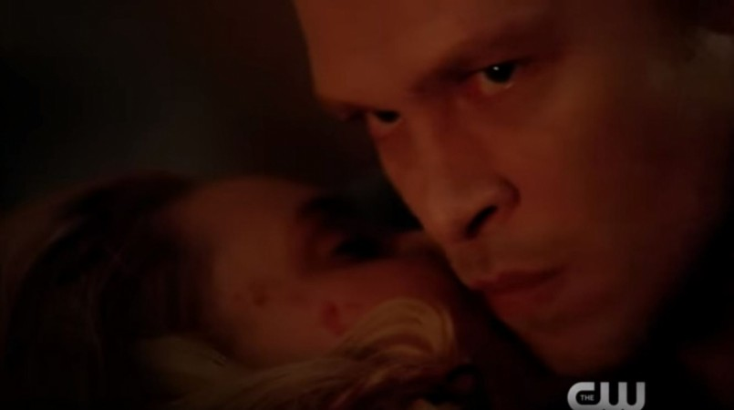 Klaus and Cami from 'The Originals'