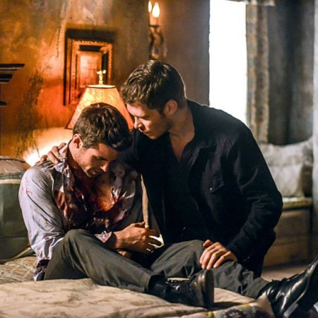 Elijah and Klaus from 'The Originals'