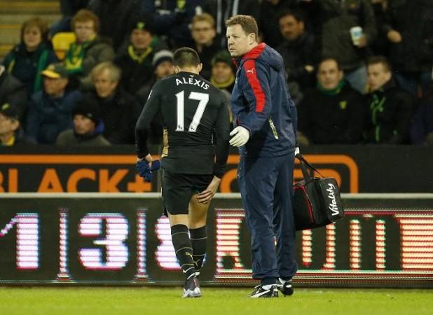 Alexis Sanchez Colin Lewin Arsenal
