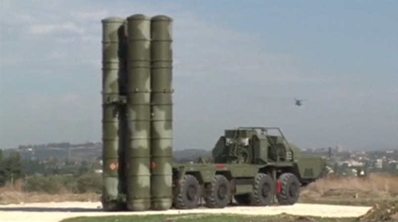 S-400 Triumf air defence missile systems