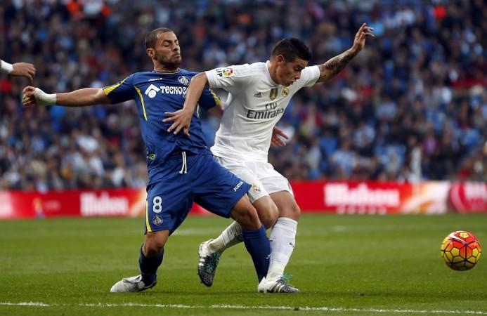 Getafe Mehdi Lacen Real Madrid James Rodriguez